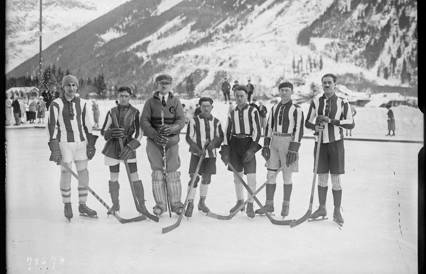 Naissance du Club Chamonix 1910