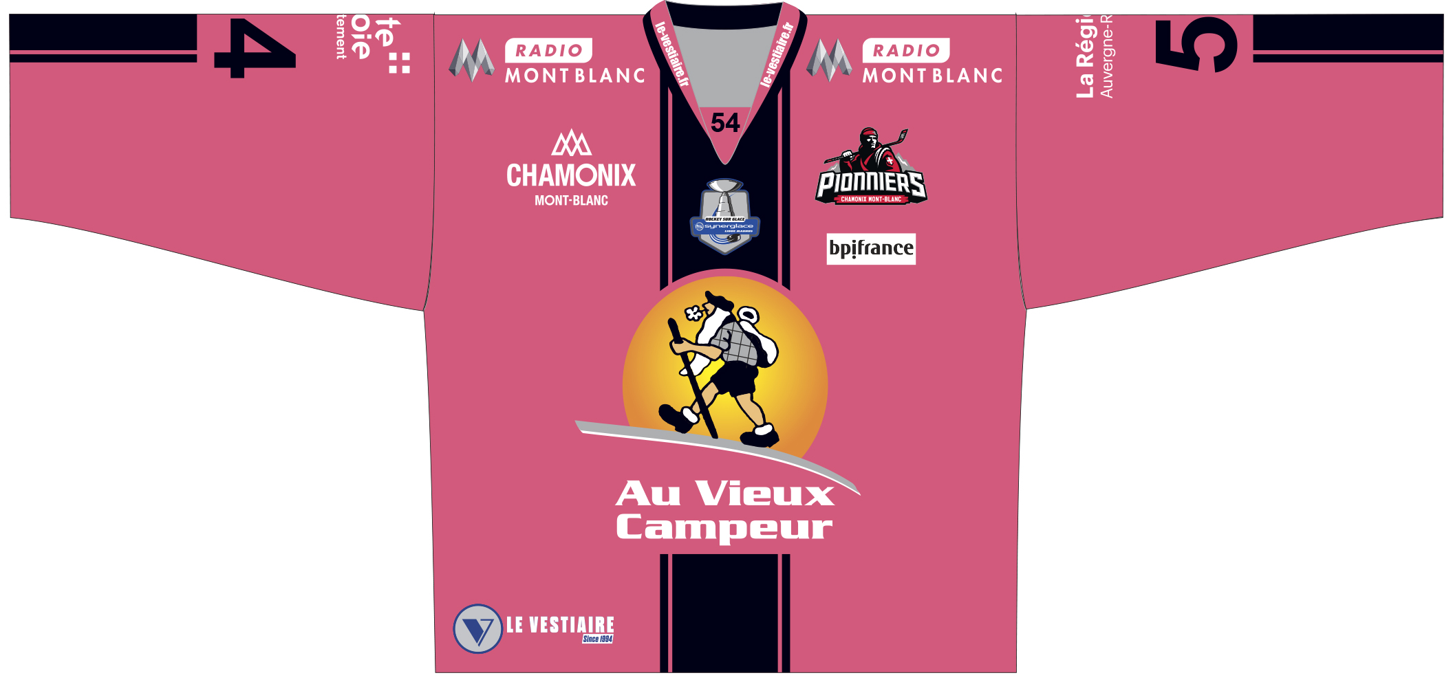 Chamonix S Associe A Octobre Rose Chamonix Hockey Elite
