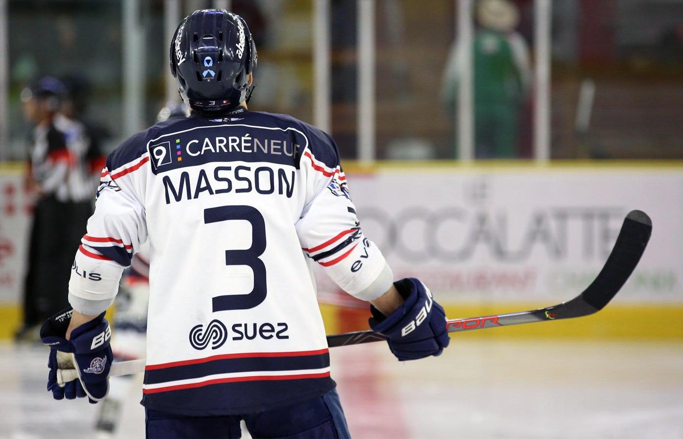 Clément Masson de retour chez les Pionniers !