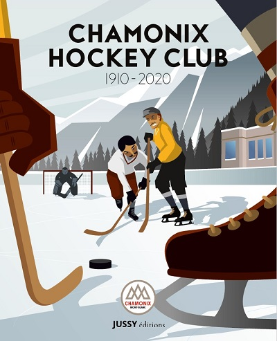 Couverture Officielle Livre Chamonix Hockey Club